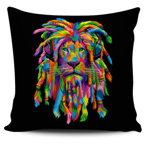 Pillow Cover : Lion Rasta