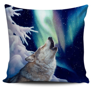 pillow cover howling wolf -algarve online shop