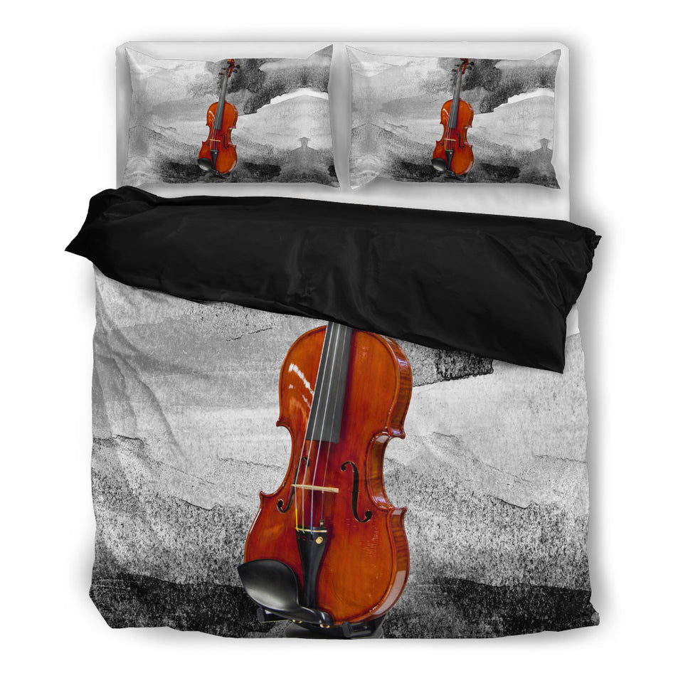 bedding music violin