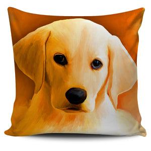 Pillow cover Labrador puppy