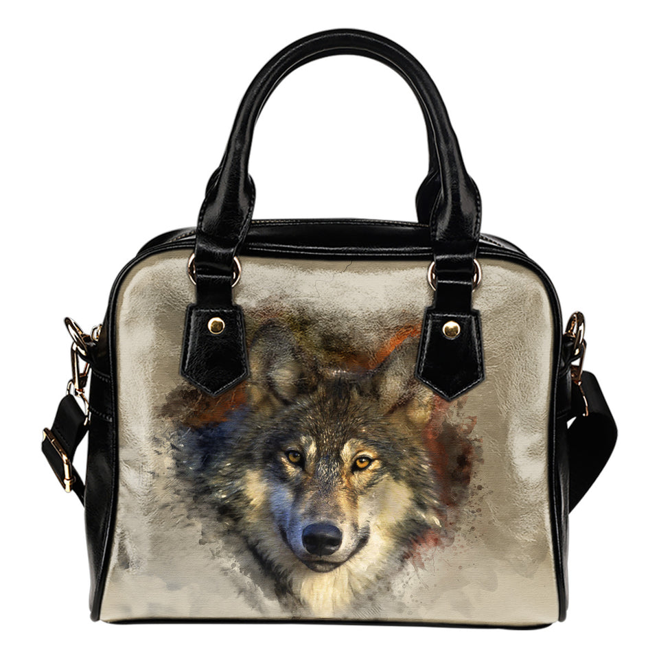 Shoulder handbag I am a wolf algarve online shop