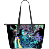 Tote Bag Howling Wolf