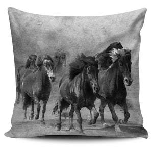 Pillow Cover Wild Horses