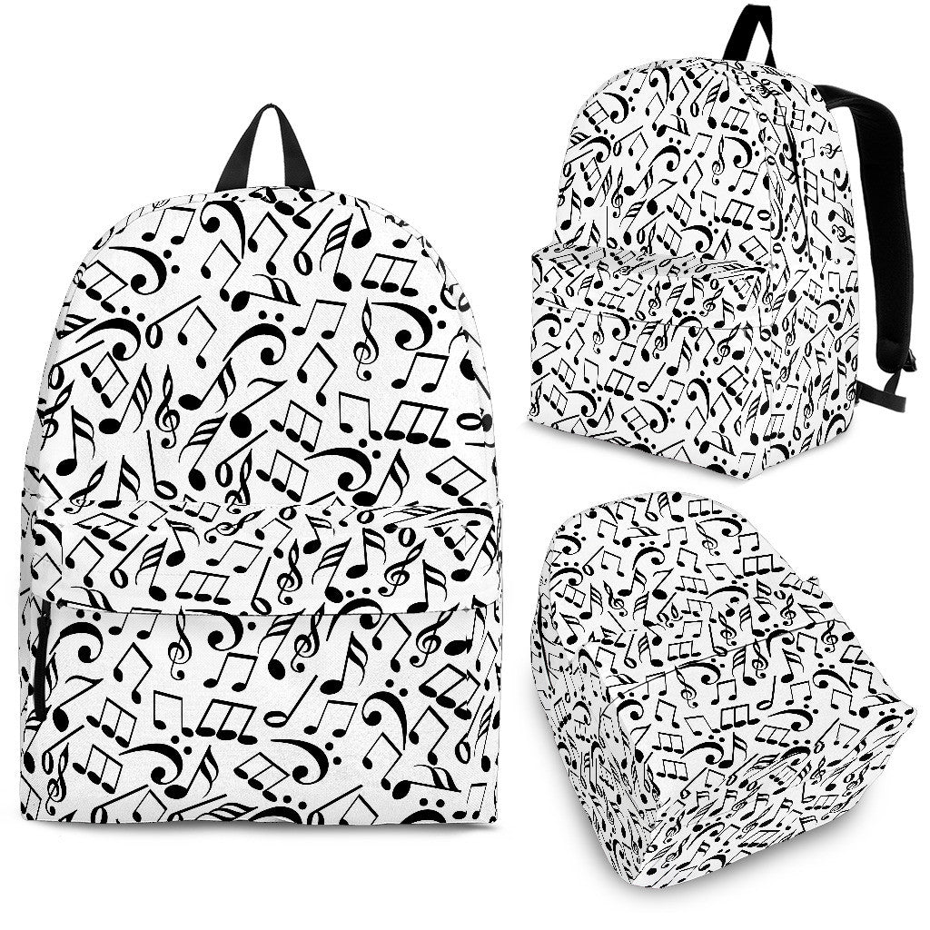 Backpack Music Notes