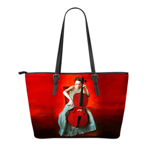 leather Tote bag Music Algarve Online shop