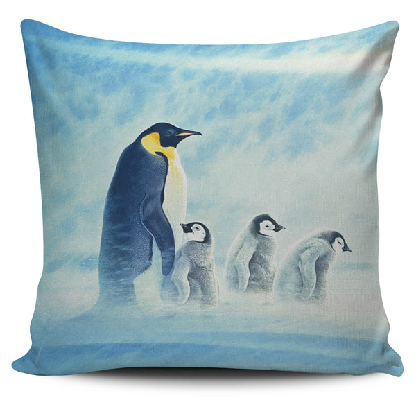 Pillow Cover - Penguins - Artic Home