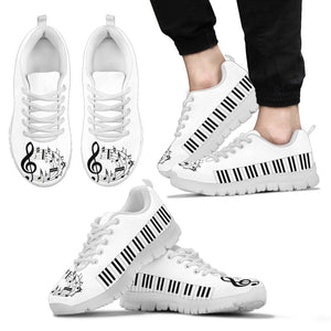 Music Lovers Sneaker White
