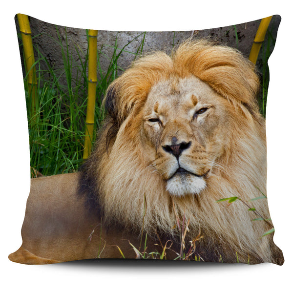 Wild Lion Pillow Covers