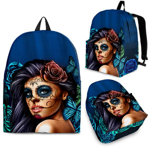 Calavera Backpack Turquoise