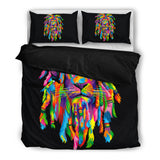 Bedding : Lion Rasta black