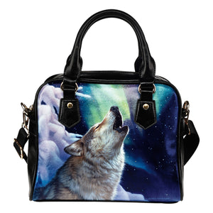 Shoulder Handbag Wolf Collection