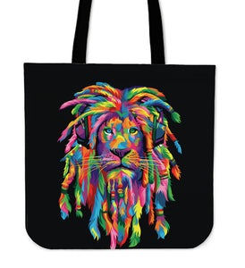 Tote Bag : Lion Rasta