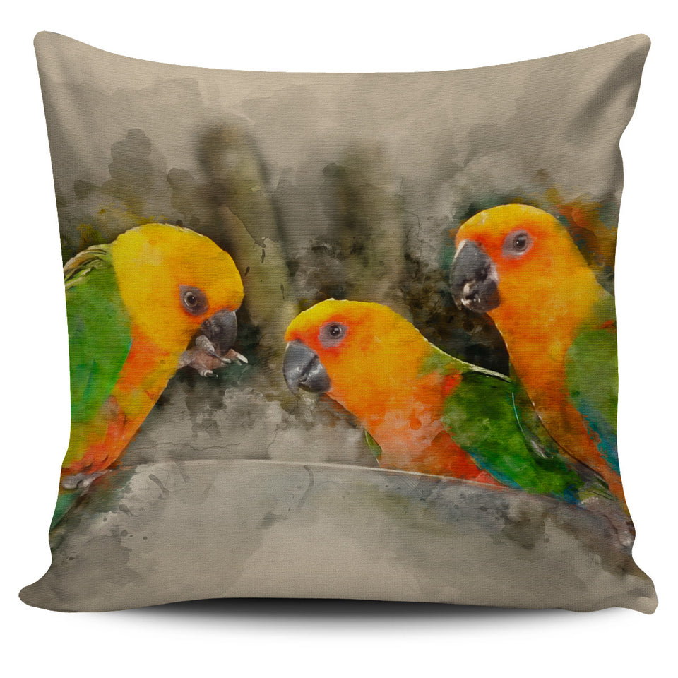 parakeet pillow covers