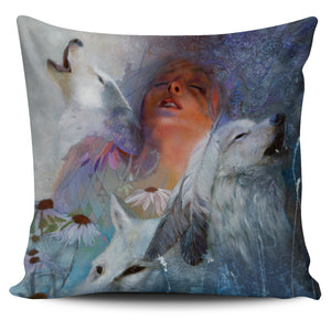 Pillow Covers - Indian Wolves
