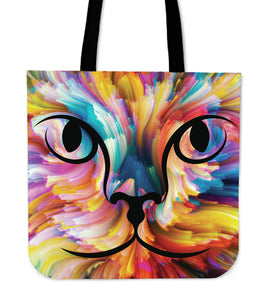 Colorful Backdrop Tote Bag