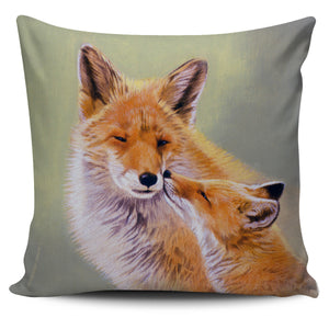 Pillow Covers - Foxes - Mothers Love - Algarve Online Shop