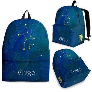 Virgo zodiac constellation backpack algarve online shop