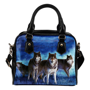 Shoulder HandBag Wolf Pack