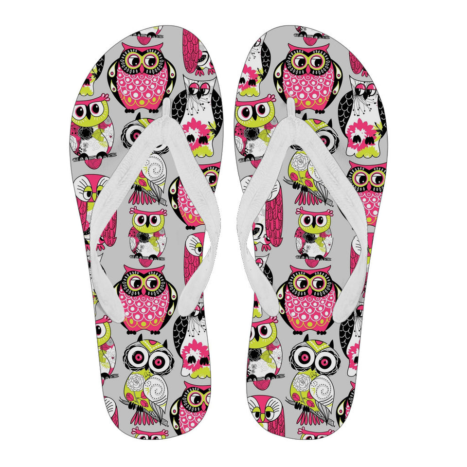 Flip Flops Owls Women - Algarve Online Shop