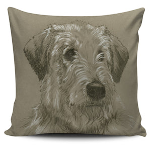 Pillow Cover Dog - Irish Wolfhound