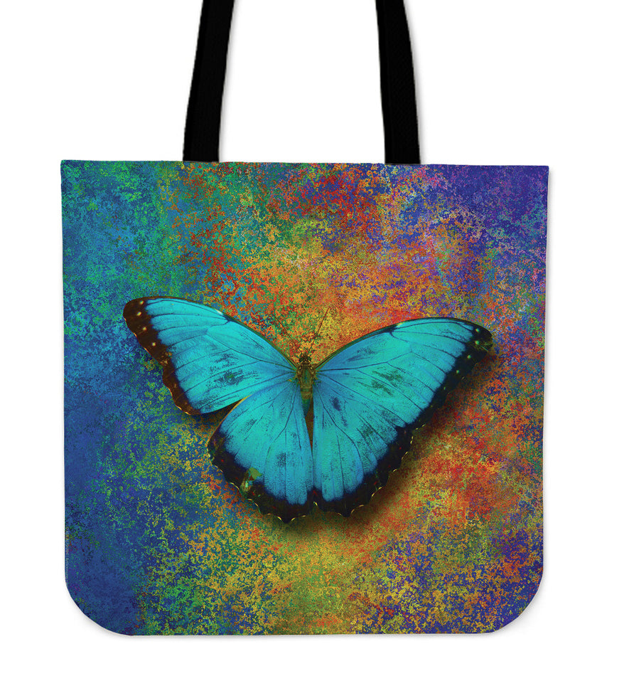 butterfly linen tote bag algarve online shop