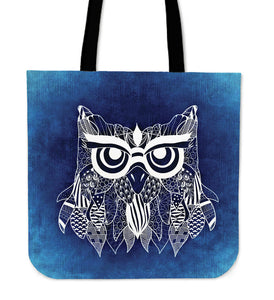 Blue Owl Tote Bag - Algarve Online Shop