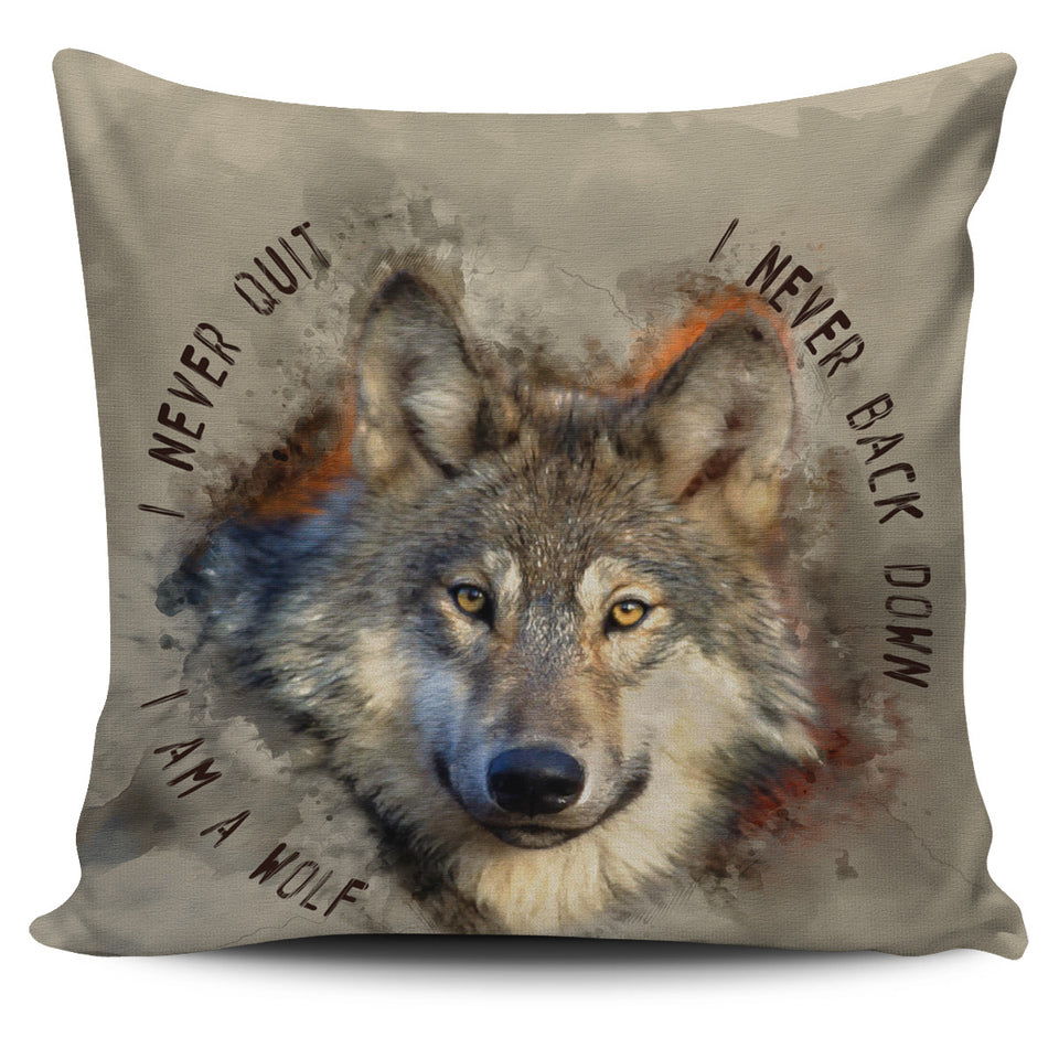 Pillow Covers - I am a wolf
