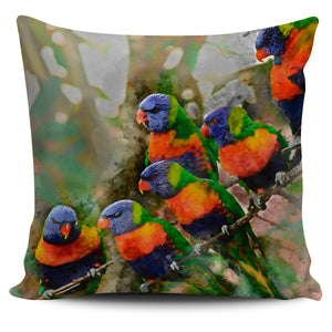 Lorikeet pillow case