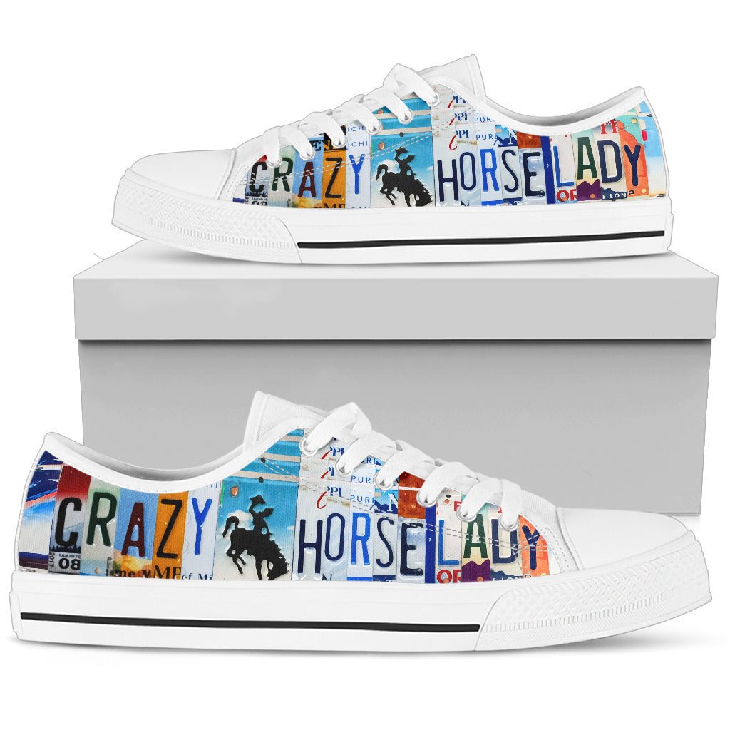 Crazy Horse Lady Low Top Shoes