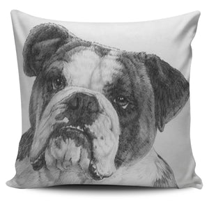 Pillow Cover Dog - American Bulldog