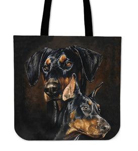 Tote Bag - Doberman Pinscher