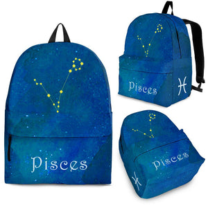 Pisces Zodiac Constellation Backpack Algarve online shop
