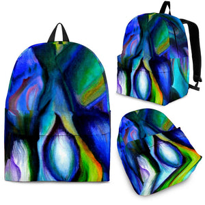 backpack abstract art algarve online shop