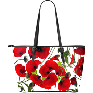 Flower Large Leather Tote