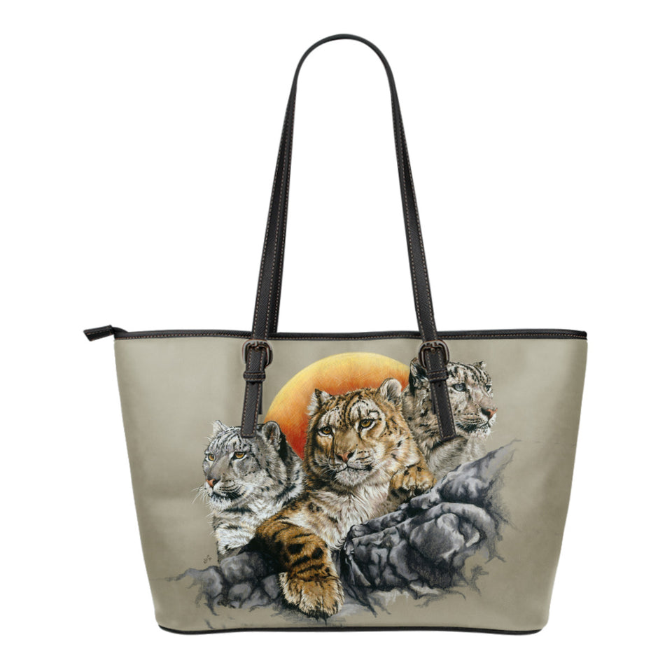 leather tote bag Big Cat Collection algarve online shop
