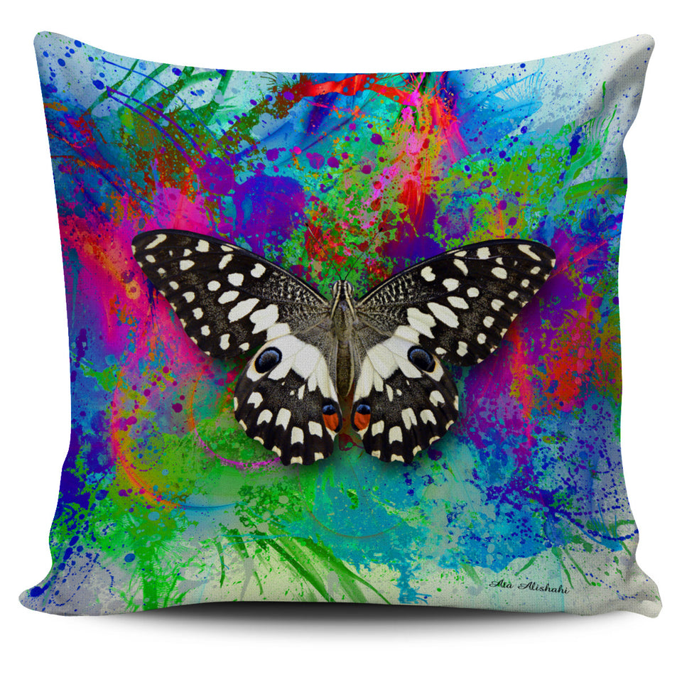 butterfly pillow case