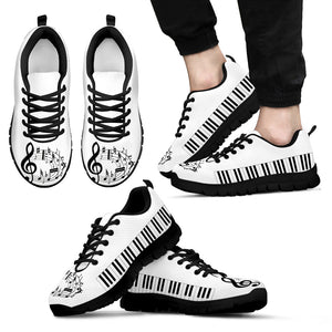 Music Lovers Sneaker Black