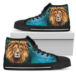 Lion women's high top shoes