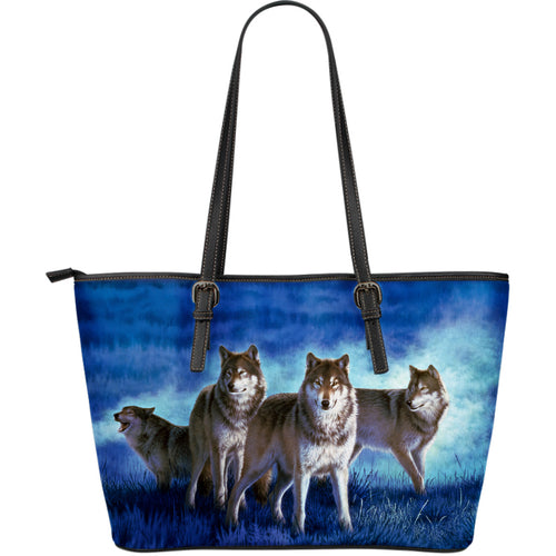 Leather Tote Wolf Collection- Algarve Online Shop