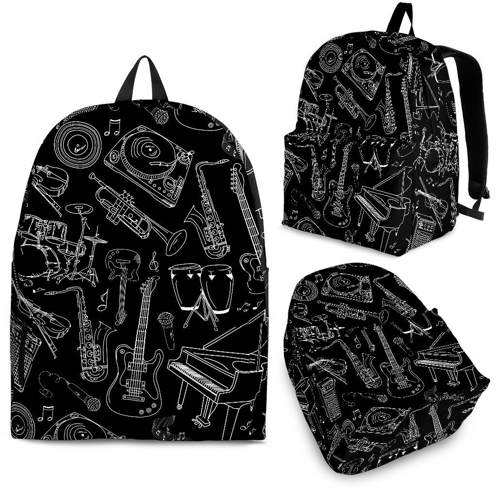 Backpack Music Instruments black