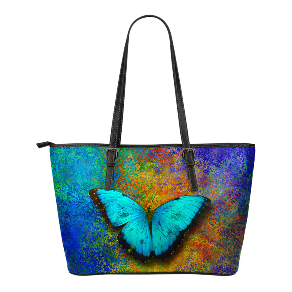 Butterfly leather tote bag Algarve Online shop