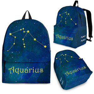 Zodiac Aquarius Constellation Gifts Idea Backpack Algarve Online Shop