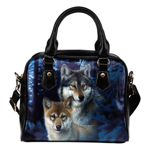 Shoulder handbag Wolf Mystic Canyon