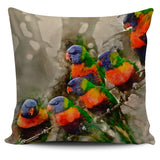 Lorikeet pillow covers