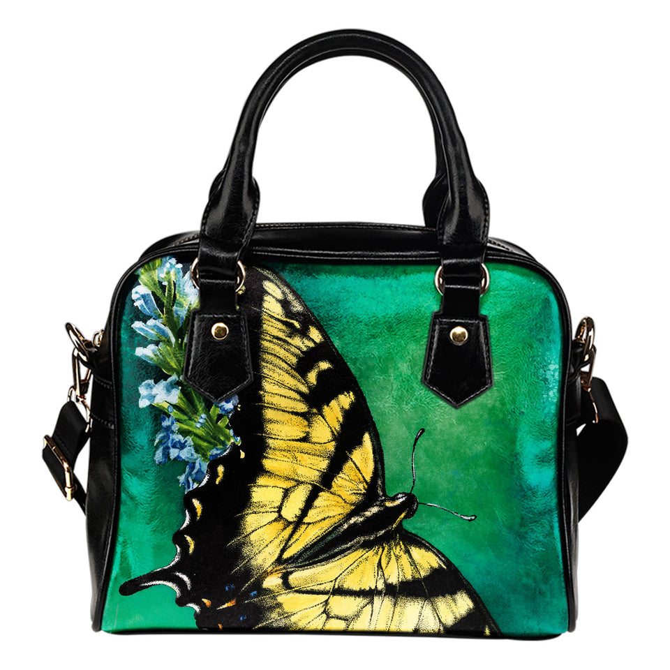 shoulder handbag butterfly green- algarve online shop