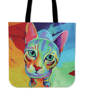 Cat Tote Bag - Cat Tote Bag