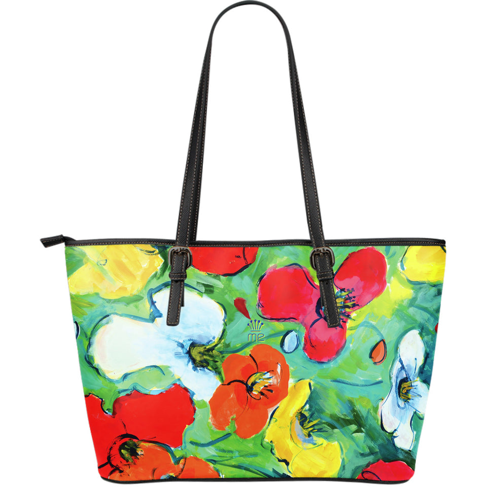 Flowers Large Tote Bag