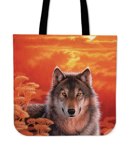 Wolf Tote Bags - Joh Naito - Algarve Online Shop
