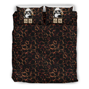 Chemist black Bedding Set