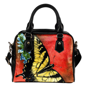 shoulder handbag butterfly orangel- algarve online shop